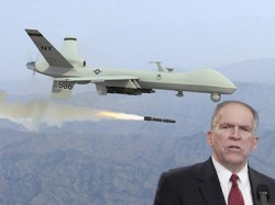 Soon-to-be CIA director, John Brennan, and one of the CIA drones he wants to introduce you to.