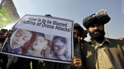 The vast majority of those killed by drone strikes in Afghanistan and Pakistan are civilians, including children.