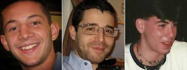 Mess, Weissman and Teken. Victims of an unresolved, and apparently uninvestigated murder.