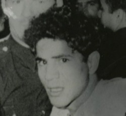 Sirhan Sirhan, immediately after he apparently did not shoot JFK.