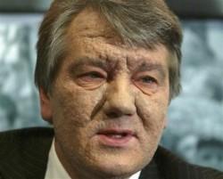 Mr. 'Orange Revolution' Victor Yushchenko.
