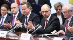 The USA's unelected man in Ukraine signs deal with the EU