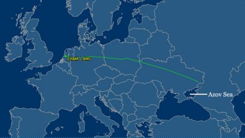 MH17-path