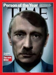 A cover of Time Magazine they're probably going to publish any day now