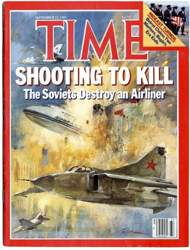 The actual Time Magazine cover from 12th September 1983