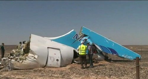 The vertical stabilizer on Flight7K9628 was several damaged, possibly inflight